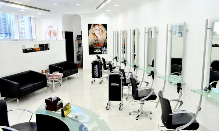 One three or six sessions of guinot facial of choice at for Beauty salon in uae