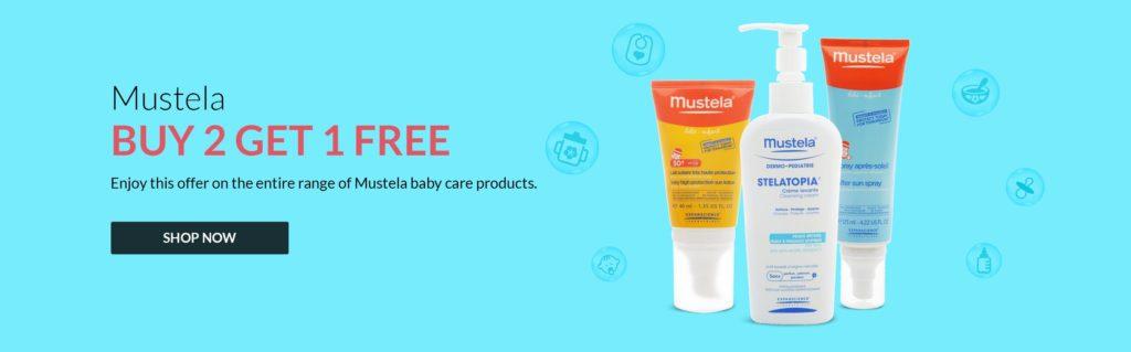 Baby Shop Offers Mustela Buy 2 Get 1 Free