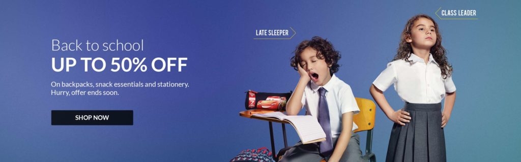 Baby Shop Offers Up To 50% OFF On School Items