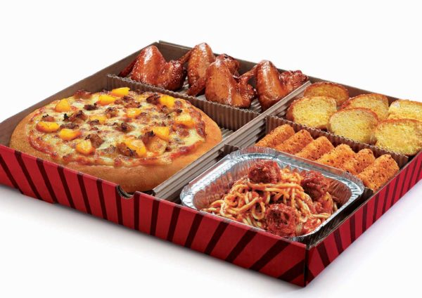 Pizza Hut Offers All In One Box