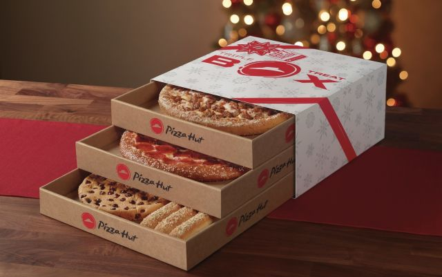 Pizza Hut Offers Triple Treat Box For 84 AED Only