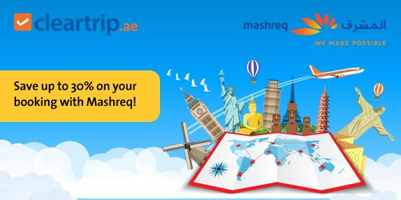 Mashreq Card - Save Up to 30% Off Flights, Hotels and Activities Bookings
