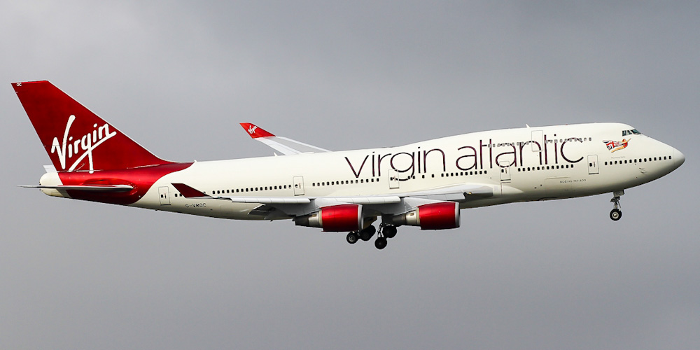 Virgin Atlantic - Up to 10% Discount on Tickets From Dubai