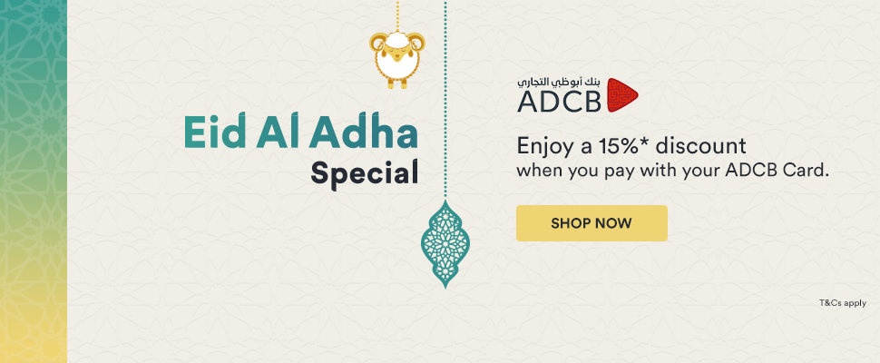 Souq Offers - Up to 15% Discount for ADCB Card holders