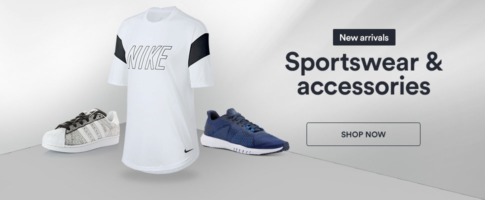 Souq Offers on Sportswear and Accessories . Valid for limited time period
