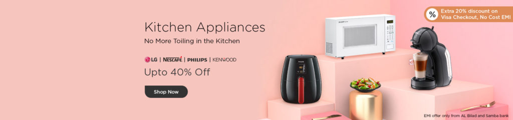 Wadi.com Offers - Up to 40% Off on Kitchen Appliances