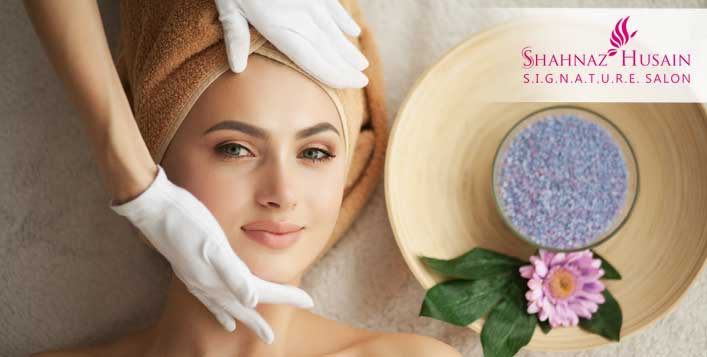 Discount on Platinum Facial Packages at Shahnaz Husain Salon - Cobone