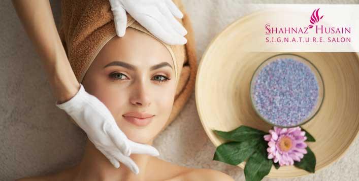 Discount on Platinum Facial Packages at Shahnaz Husain Salon - Cobone